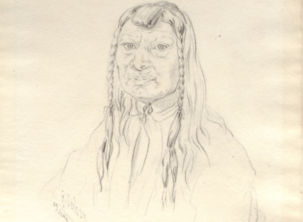 Joseph Too-we-tak-hes Chief of the Nez Perce Indians