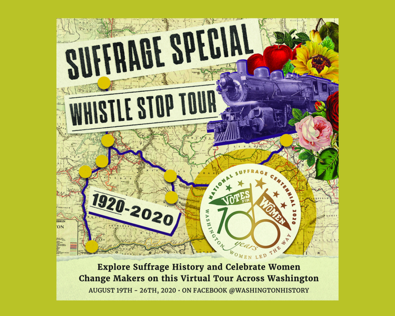 The Suffrage Special Whistle Stop Tour video series 2